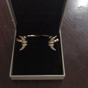 Rachel Zoe bracelet with Jade stone
